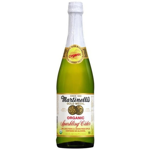 <b>  Martinelli Sparkling Organic Apple Cider 1 Bottle (6.95ea)