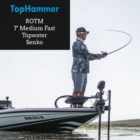 TopHammer - 7' Medium Fast Topwater Rod