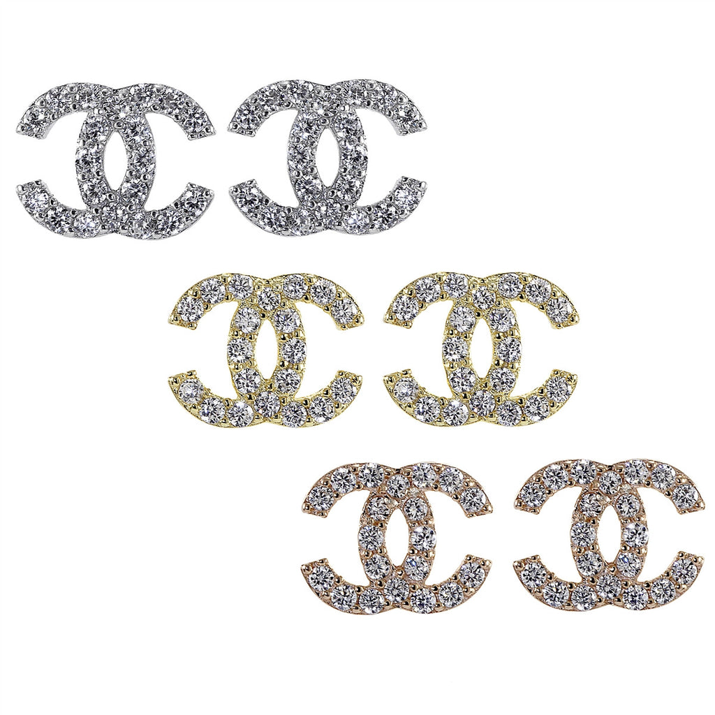 Double C Earrings