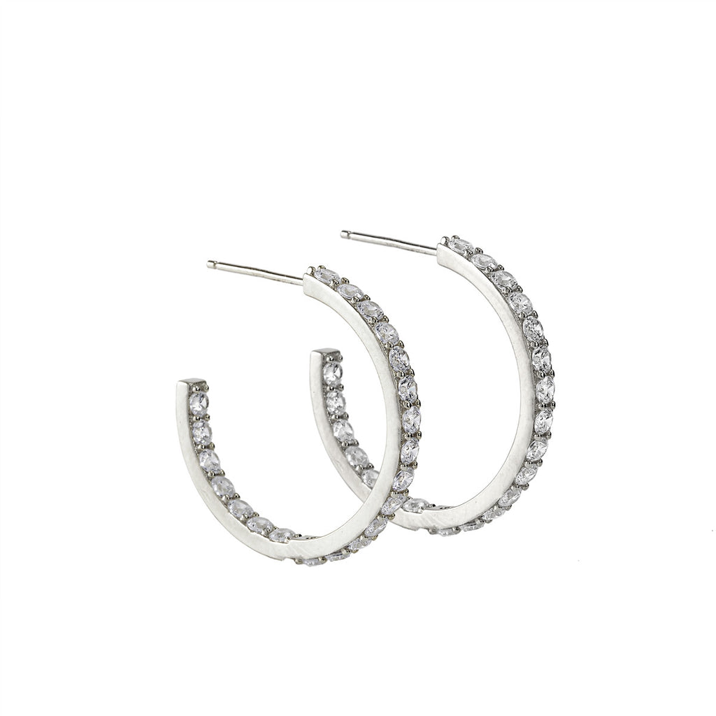 Grace Hoop Earrings (Petite)