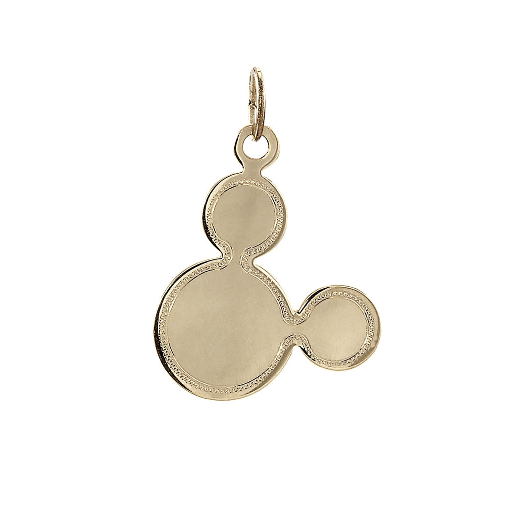 Mickey Mouse Necklace 14K Gold