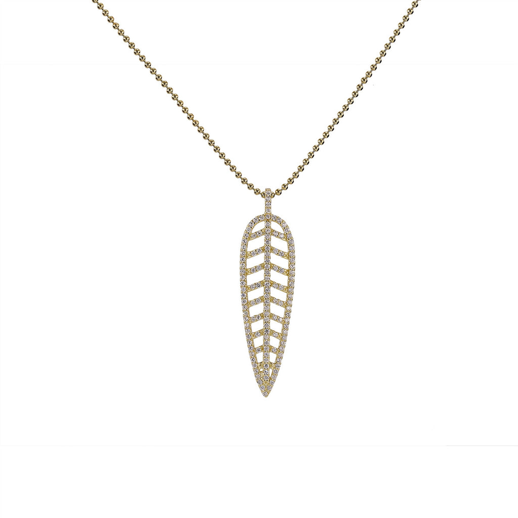 Feather Necklace (Small)
