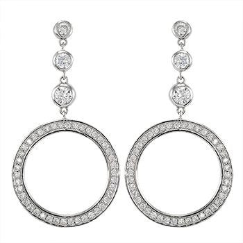Circle Hoops Earrings