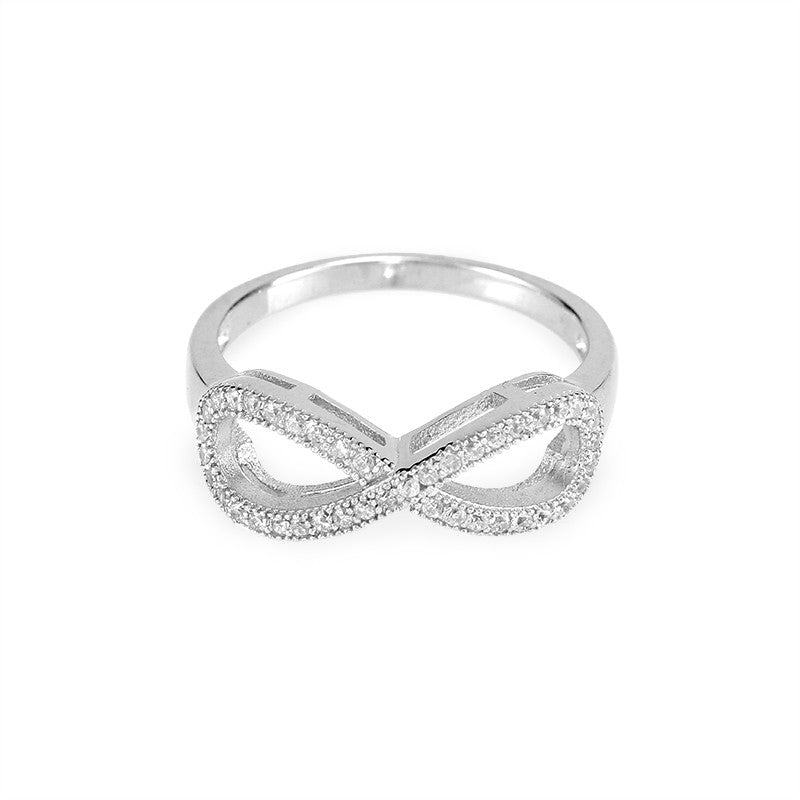 Infinity Micro Pave Ring