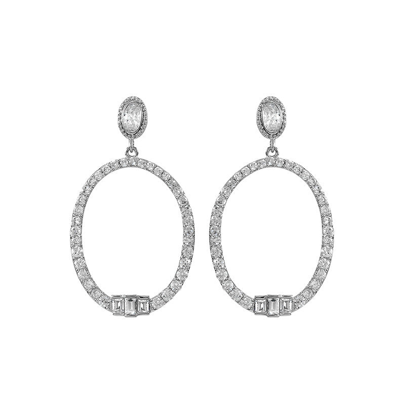 Pegeen Oval Hoop Earrings