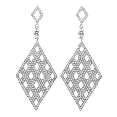 Diamond-Shaped Earrings