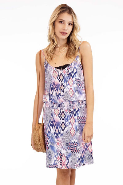 Veronica M. Francisco Smocked Tank Dress