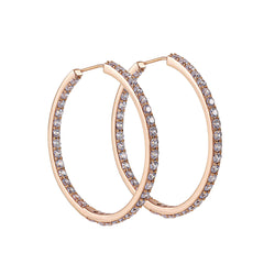 Grace Hoop Earrings (Large)