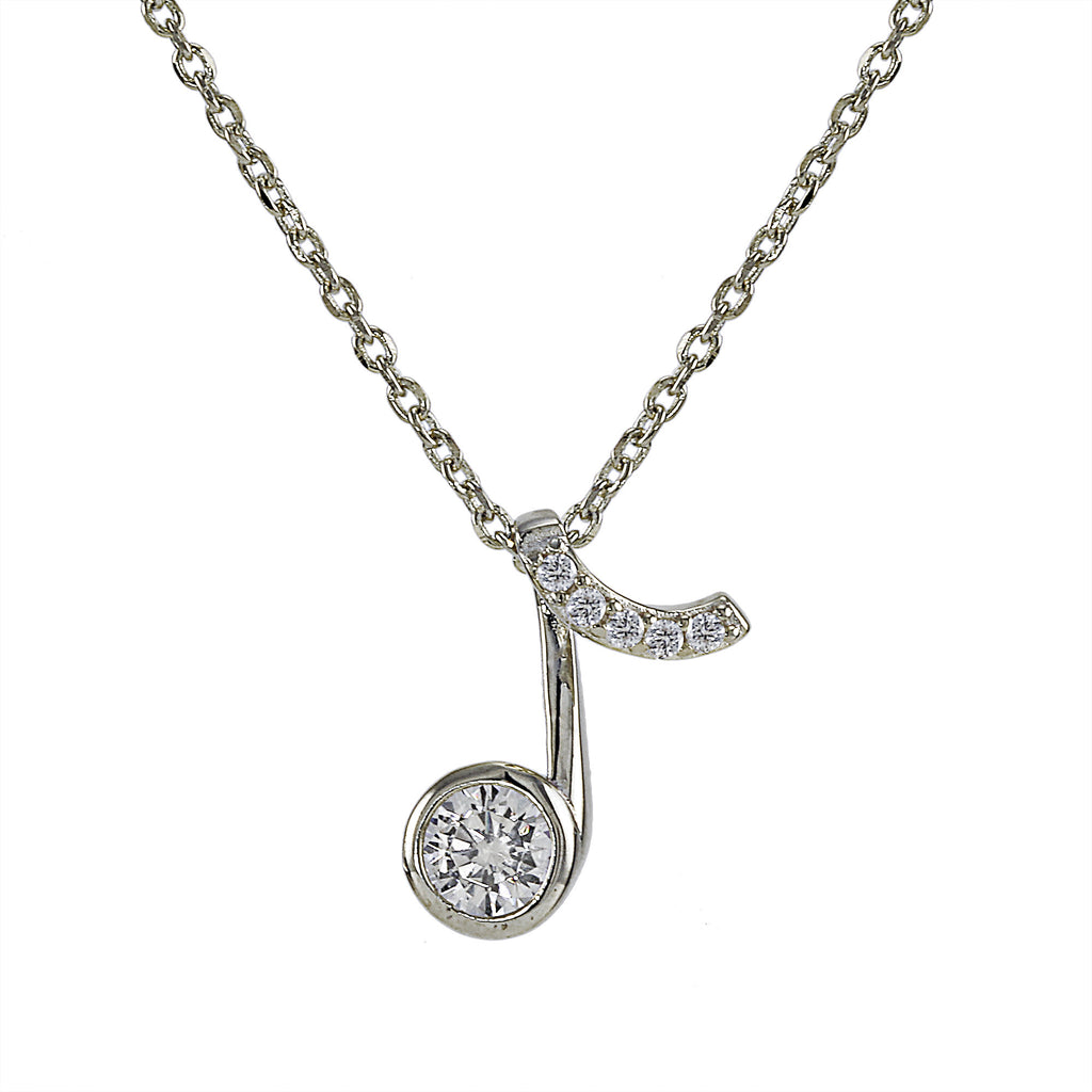 Music Note Necklace at J Grace & Co