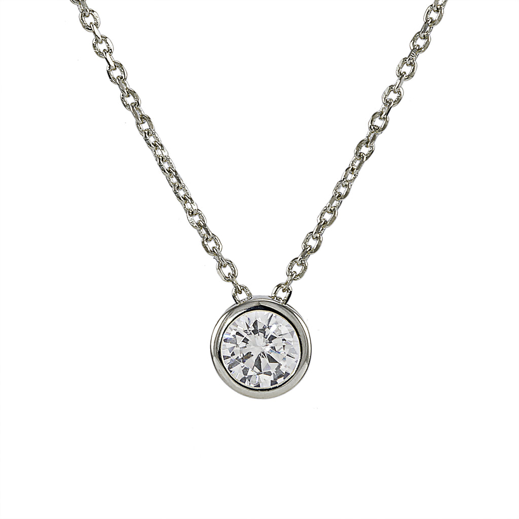 Solitaire Necklace (All Colors)