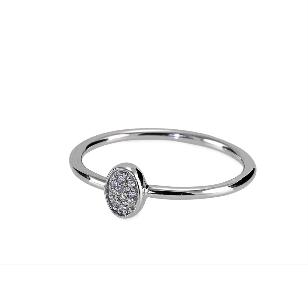 Oval Stackable Ring