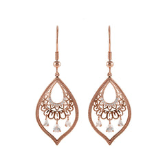 Rose Gold Elma Earrings