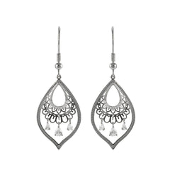 Silver Elma Earrings