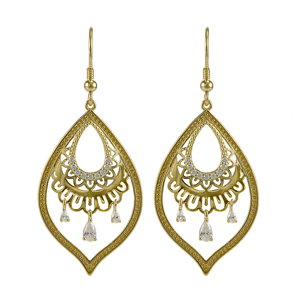 Mira Earrings at J Grace & Co