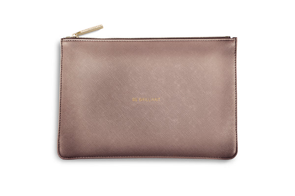 "Katie Loxton ""Be Brilliant"" Pouch"