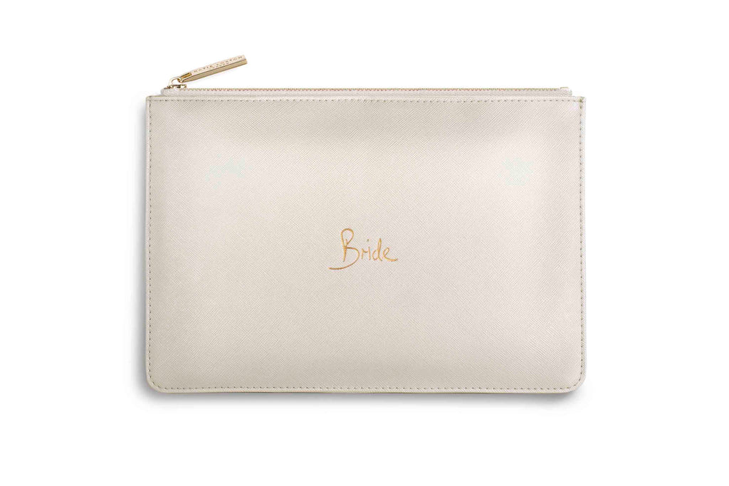 "Katie Loxton ""Bride"" Personality Pouch"