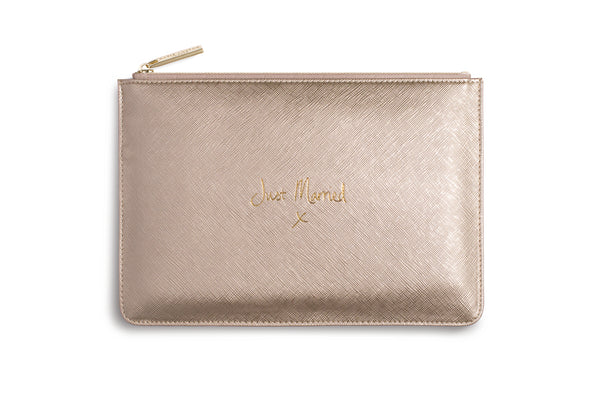 "Katie Loxton ""Just Married"" Personality Pouch"