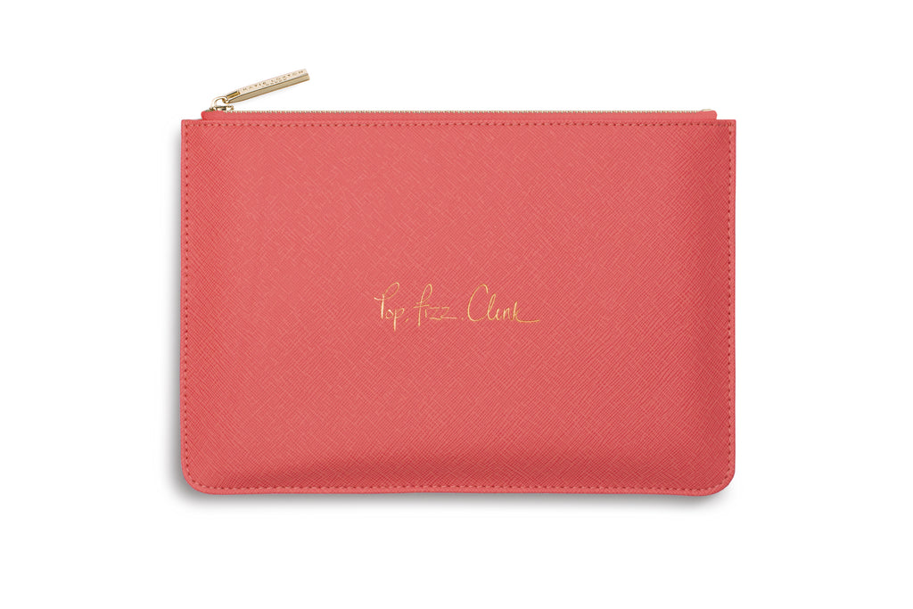 "Katie Loxton ""Pop, Fizz, Clink"" Personality Pouch"