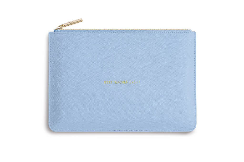 "Katie Loxton ""Best Teacher Ever"" Personality Pouch"