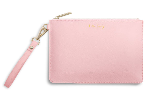 "Katie Loxton ""Hello Lovely"" Secret Message Pouch"