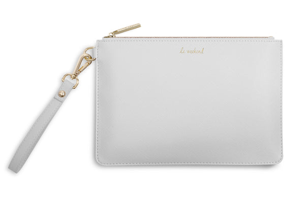 "Katie Loxton ""Le Weekend"" Secret Message Pouch"