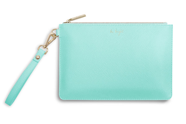 "Katie Loxton ""Be Bright"" Secret Message Pouch"