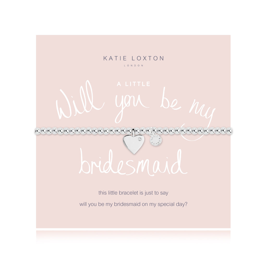 "Katie Loxton ""Will You Be My Bridesmaid"" Bracelet"