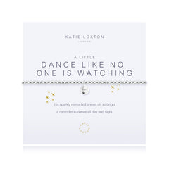 "Katie Loxton ""Dance Like No One is Watching"" Bracelet"