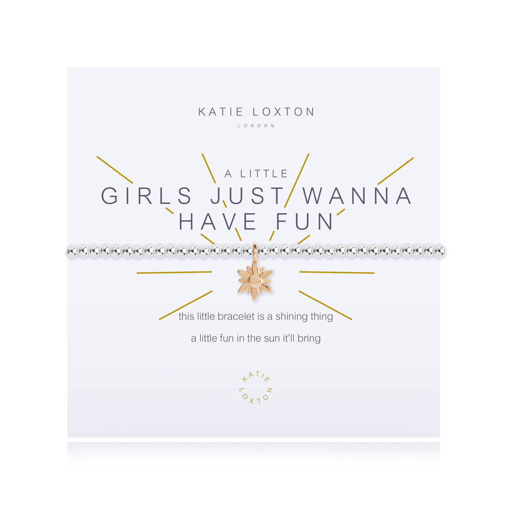 "Katie Loxton ""Girls Just Wanna Have Fun"" Bracelet"