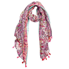 Woven Paisley Scarf at J Grace & Co