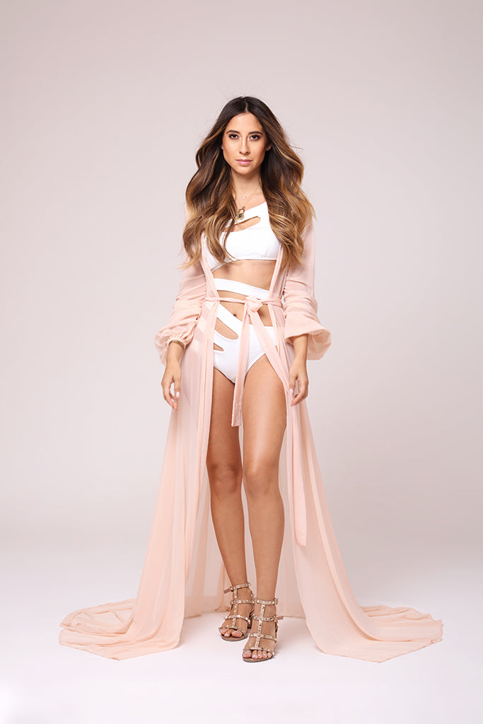 Alessa Nude Cover Up