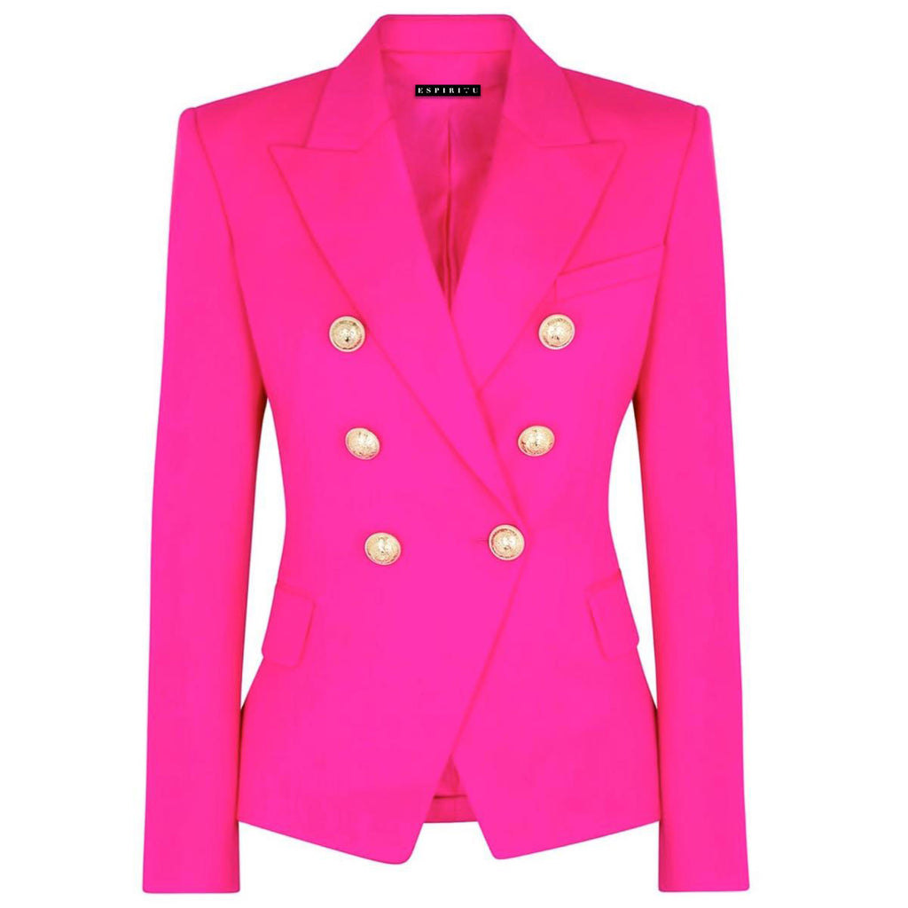 Pink obsession blazer