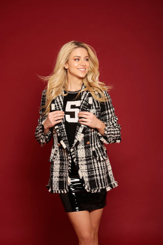 Triana Tweed Blazer
