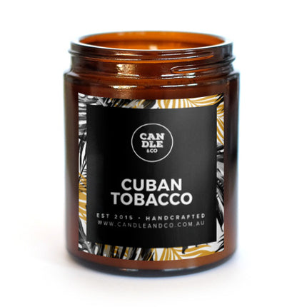 Cuban Tobacco Amber Candle