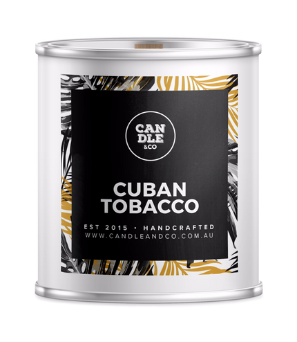 Cuban Tobacco Destination Candle