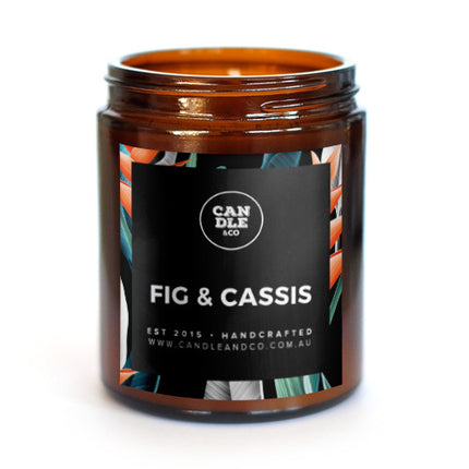 Fig & Cassis Amber Candle