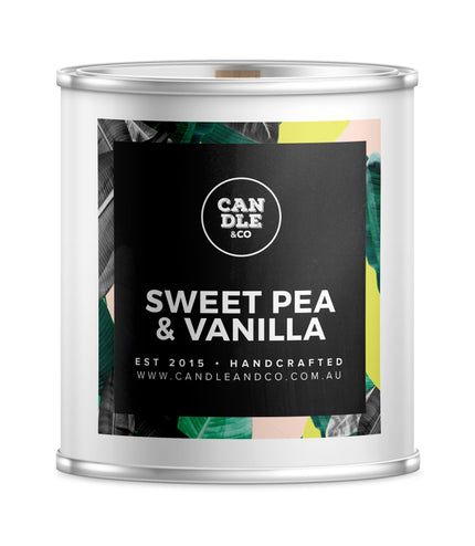 Sweet Pea & Vanilla Destination Candle
