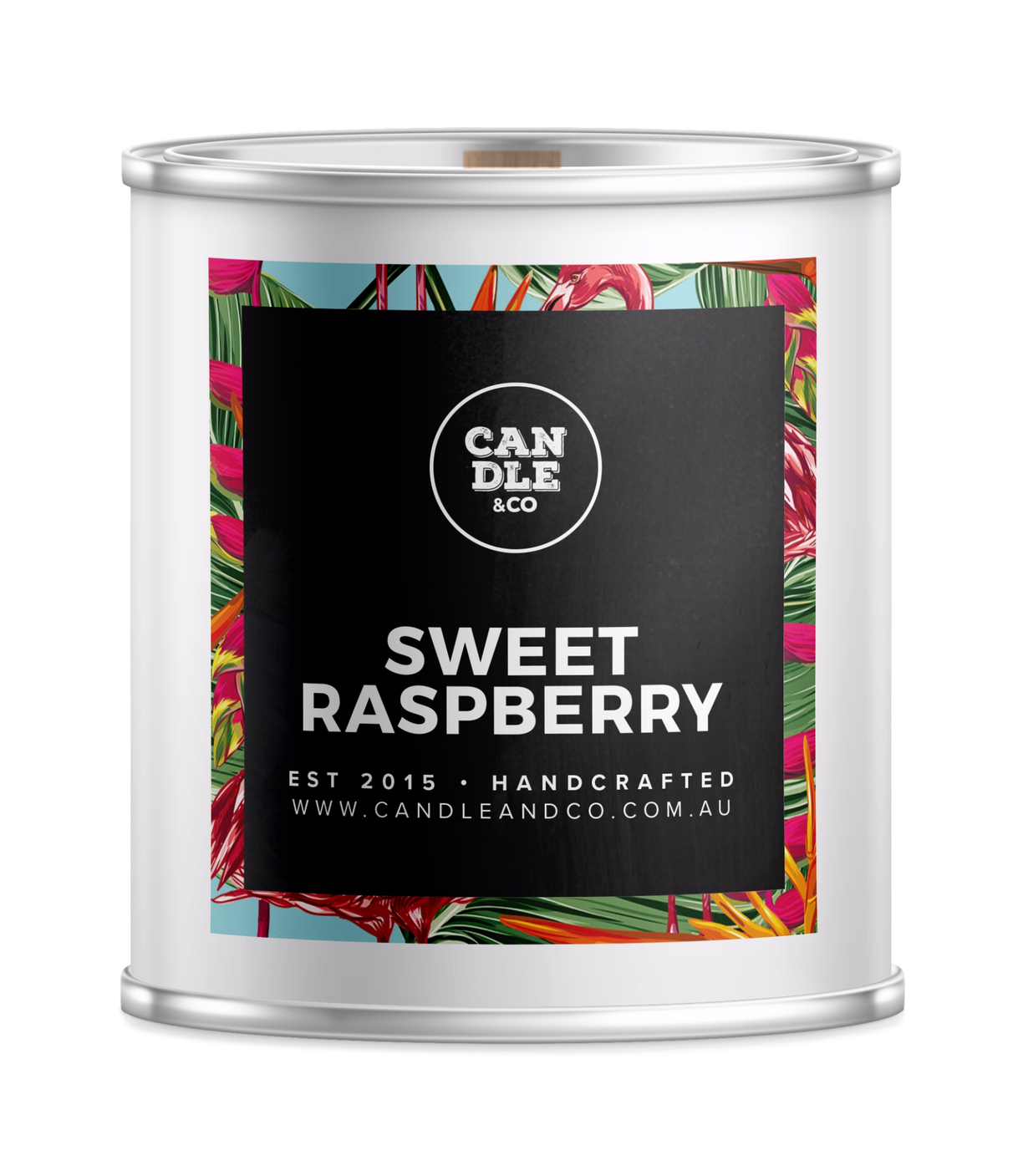 Sweet Raspberry Destination Candle