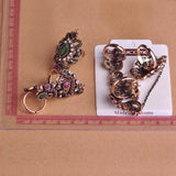 Carved Flowers Vintage Exquisite Mid Rings. Free shipping!