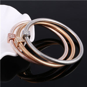 Plated Charm Multilayer Bracelets. Various Styles. Free Shipping!
