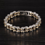 Motorcycle Chain Bracelets. 4 Color 316L Stainless Steel. Free Shipping!