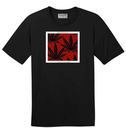 Boxed Leaves Logo Tee
