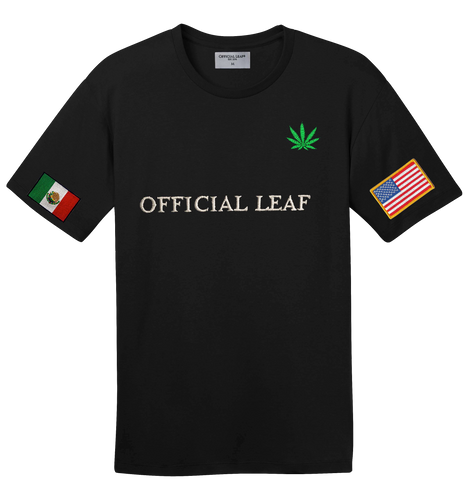 Mexican American Official Leaf Shirt