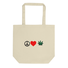 Peace, Love, Official Leaf Tote Bag