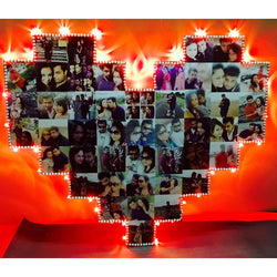 Sosha Heart Shape LED with Square Edges - Sosha