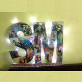 Sosha Double Alphabet LED Collage