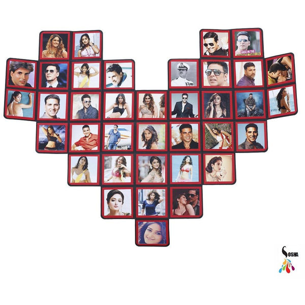 Sosha Heart Shape Greeting Card