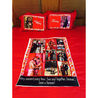 Sosha King Size Bedsheet with 2 Pillow Covers - Sosha