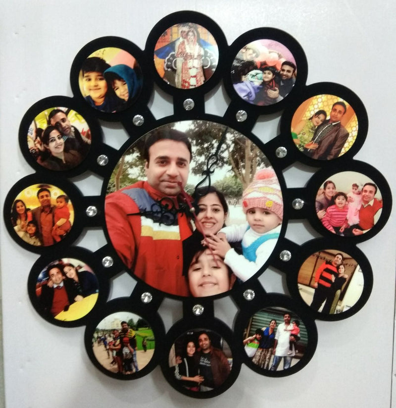 Sosha Clock Photo Frame 3 - Sosha