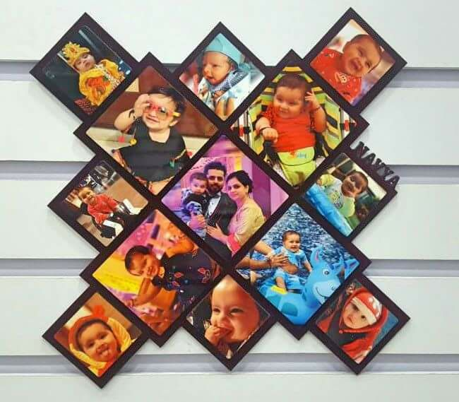 Sosha X Shape Photo Frame - Sosha